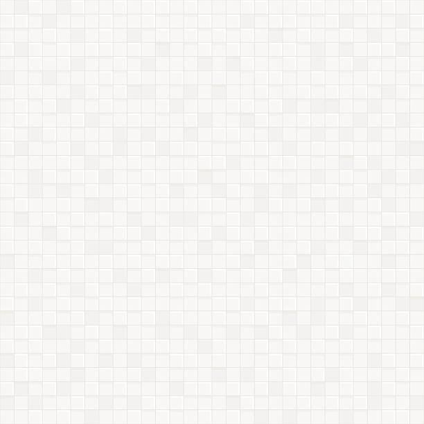 White vector geometric texture pattern Background. vector art illustration