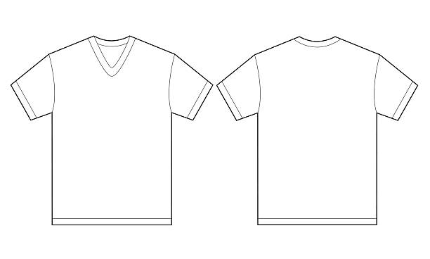 Royalty free v neck clip art vector images for V neck t shirts with designs