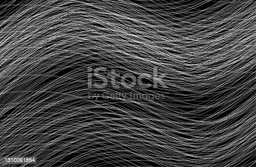white wave on black background illustration