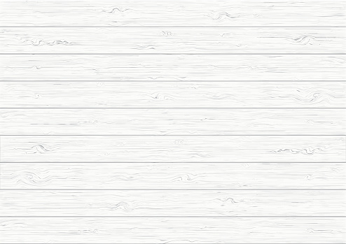White wood plank texture background clipart