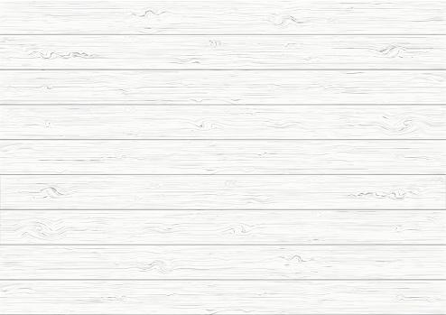 흰색 나무 판자 질감 배경 0명에 대한 스톡 벡터 아트 및 기타 이미지