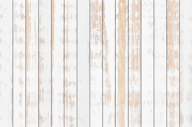 white wood plank texture background, vector - wood texture stock illustrations
