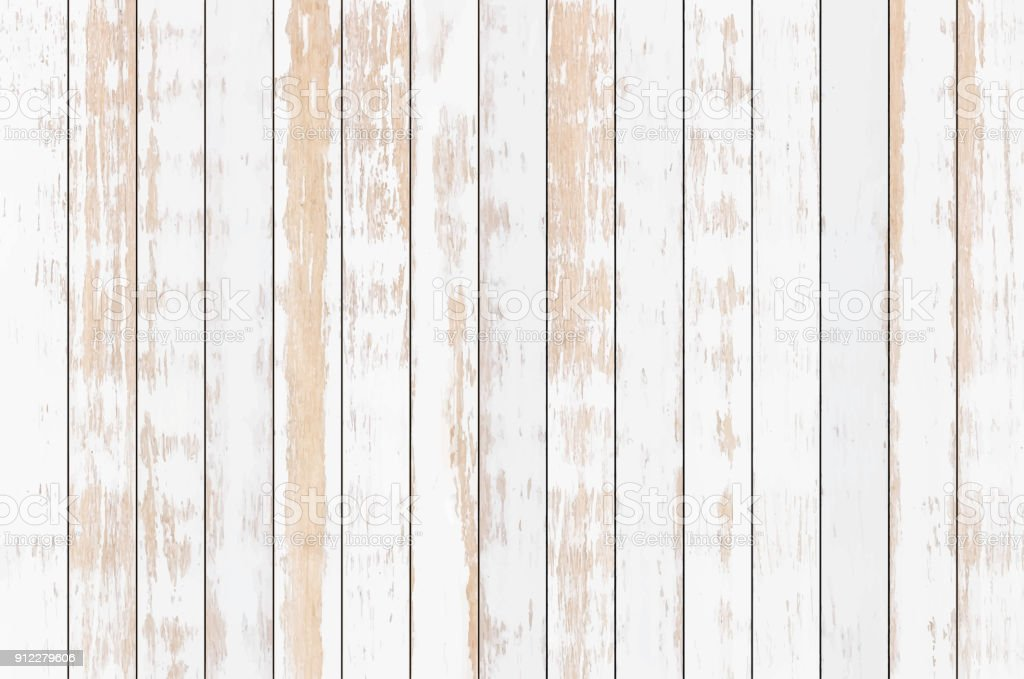 White Wood Plank Texture Background Vector Stock Illustration Download Image Now Istock