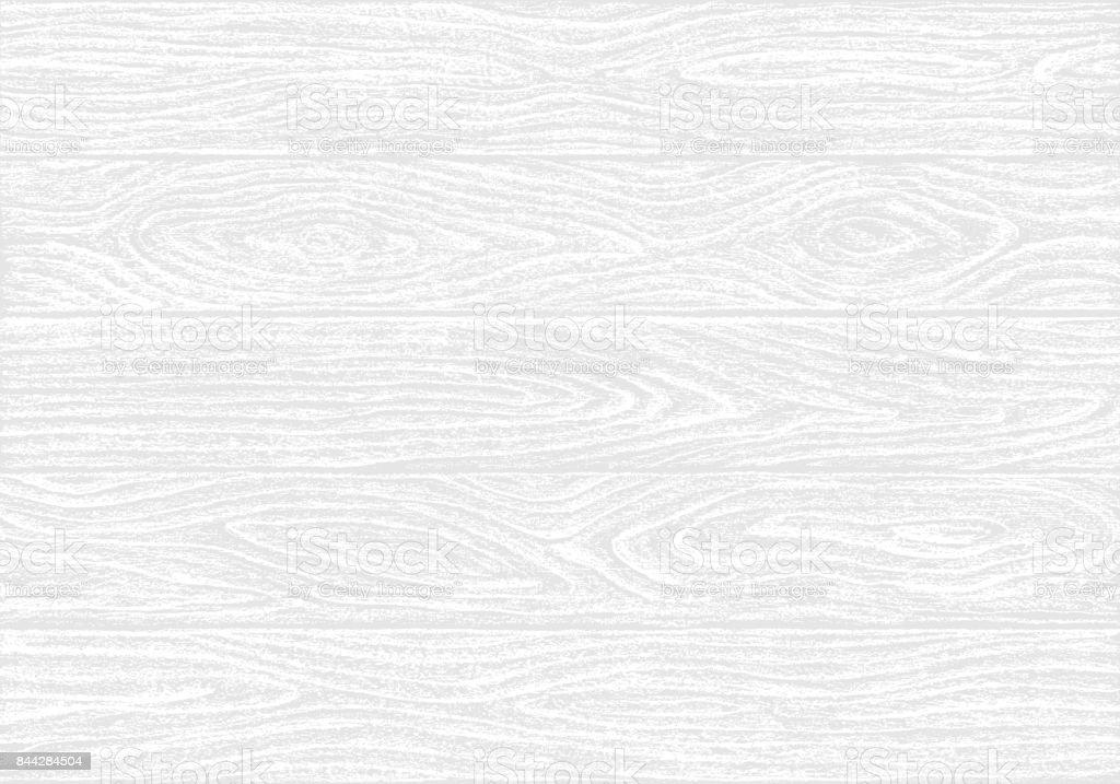 Tablón de madera blanca textura - ilustración de arte vectorial