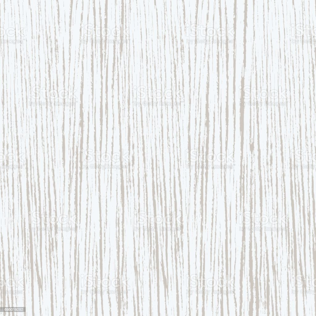 White wood texture background vector art illustration