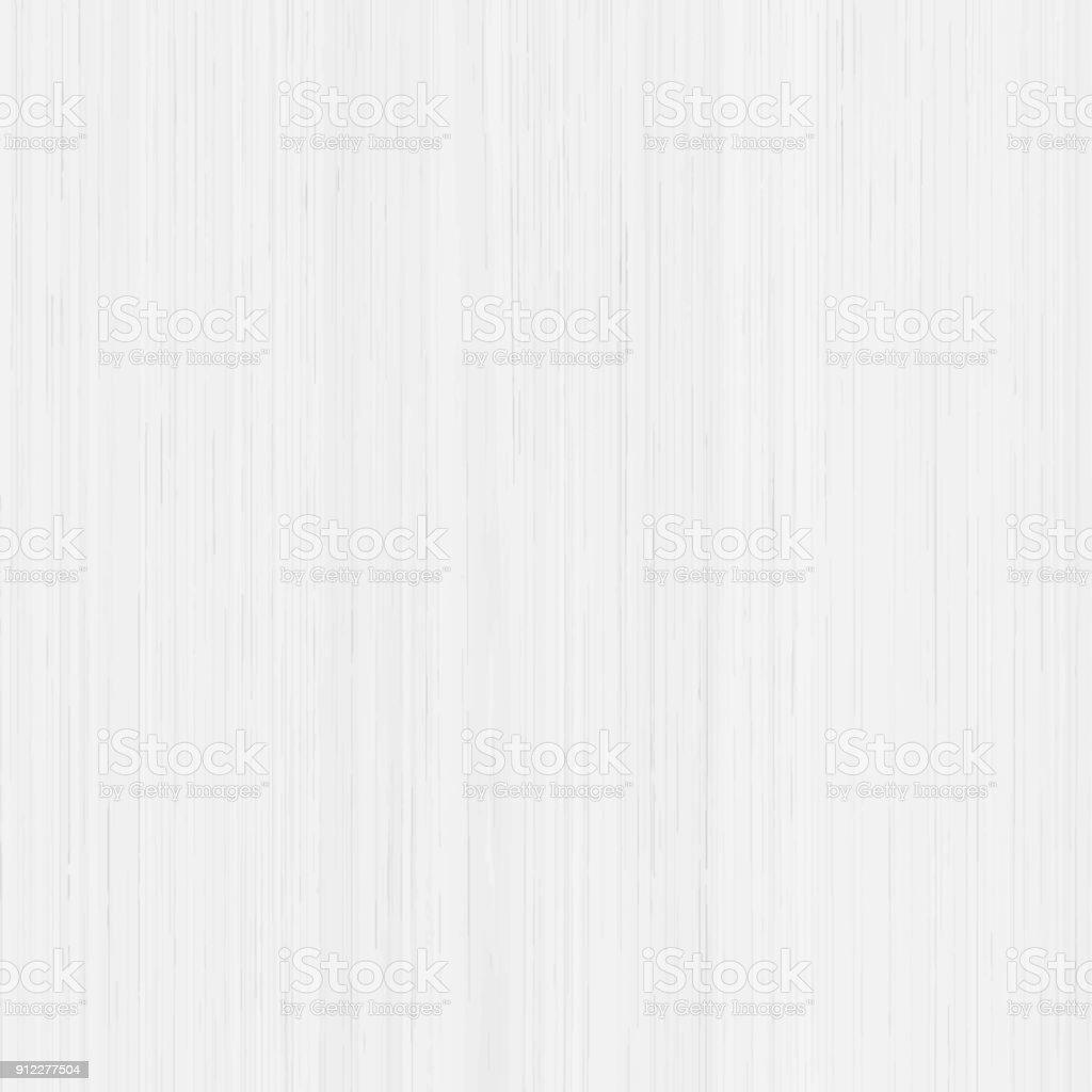 White wood texture background, vector vector art illustration