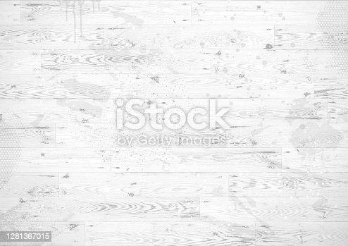 istock White wooden boards grunge background 1281367015