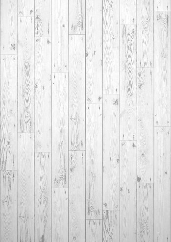 White wooden boards grunge background