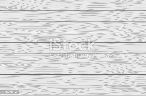 istock White wooden planks background. Vector texture 915255170