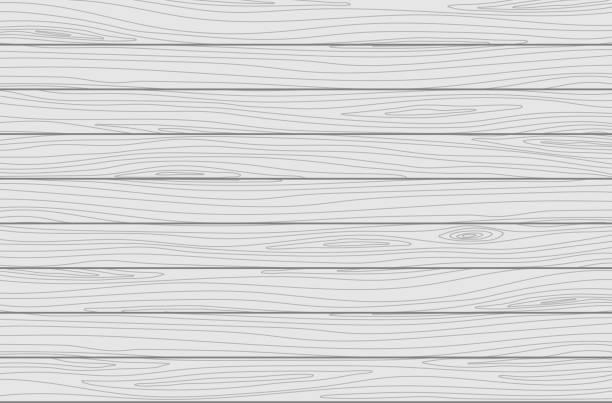 weiße holzbohlen hintergrund. vektor-textur - holzdeck stock-grafiken, -clipart, -cartoons und -symbole