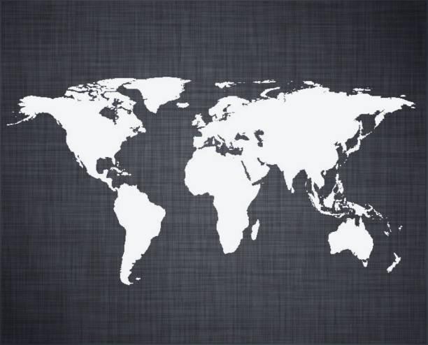 ilustrações de stock, clip art, desenhos animados e ícones de branco mapa do mundo. - angiospermas