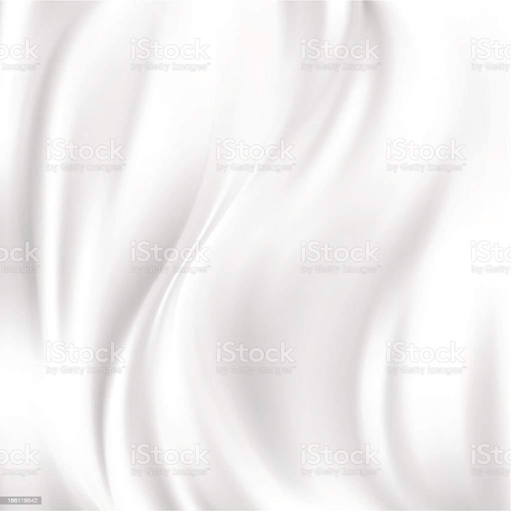 White wrinkled silk abstract vector texture vector art illustration