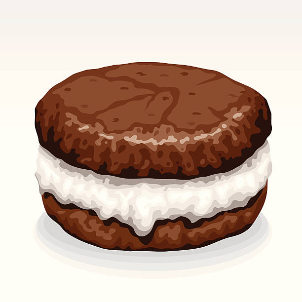 Royalty Free Whoopie Pie Clip Art Vector Images