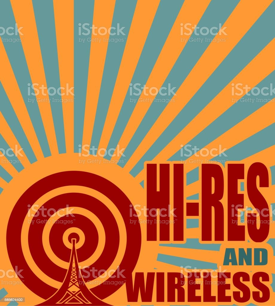 Wi Fi Wireless Network Symbol Stock Vector Art 585624400 Istock