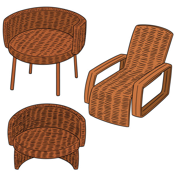 Wicker Chair Pictures: Royalty Free Wicker Chair Clip Art, Vector Images