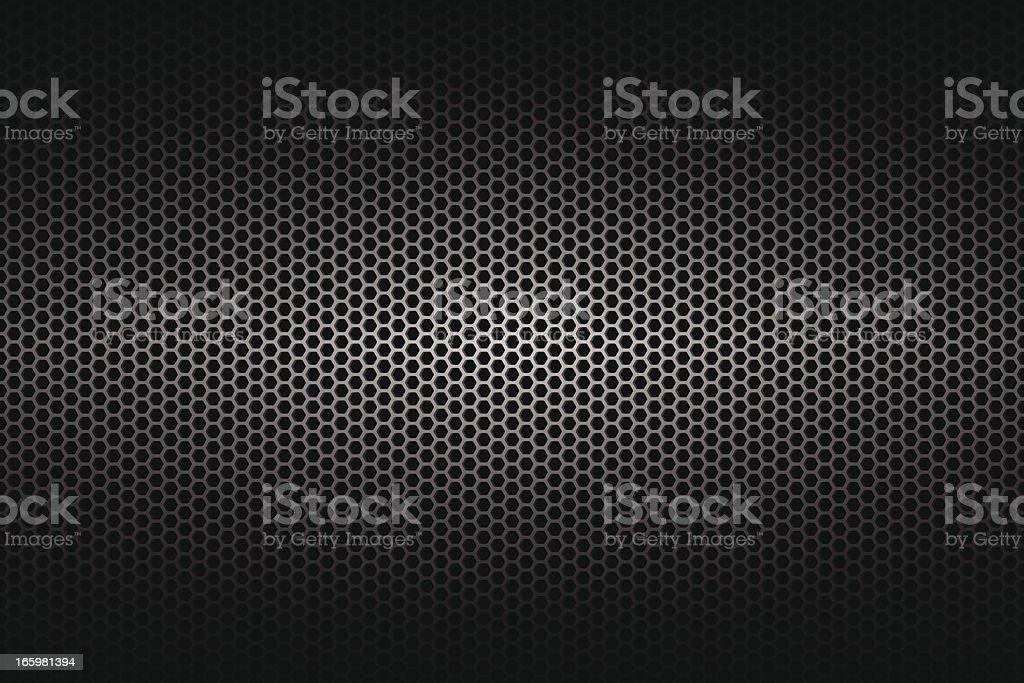 A wide background of metallic texture vector art illustration