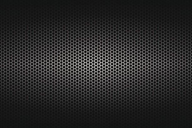 Metallic-Struktur am weiten Hintergrund – Vektorgrafik