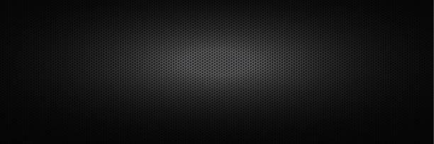 breiter schwarzer industrieller hintergrund. - edelrost stock-grafiken, -clipart, -cartoons und -symbole