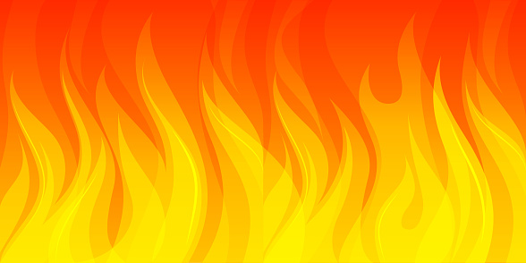 wide fire background