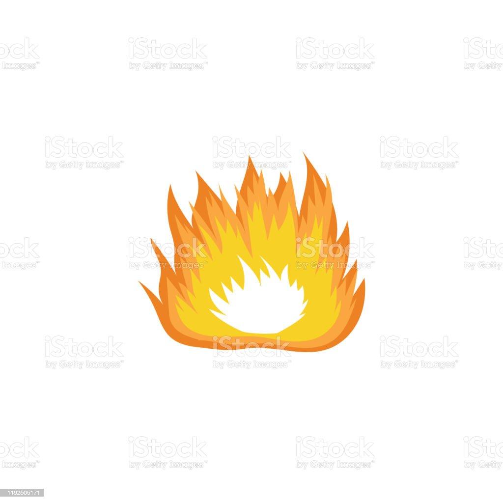 Vetores De Desenho De Fogo Extraido Mao Larga Com Simbolo Quente Da Queimadura Da Chama Alaranjada E Amarela E Mais Imagens De Abstrato Istock