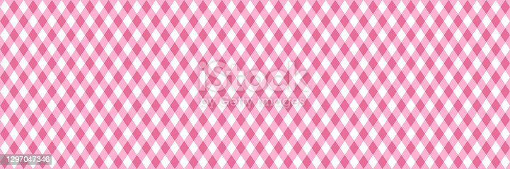 istock wide pink diagonal stripes seamless vector pattern 1297047346