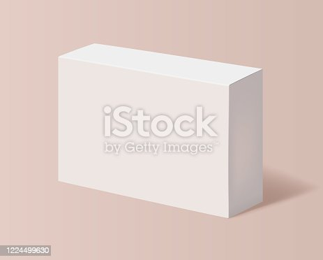 cardboard box container package mockup