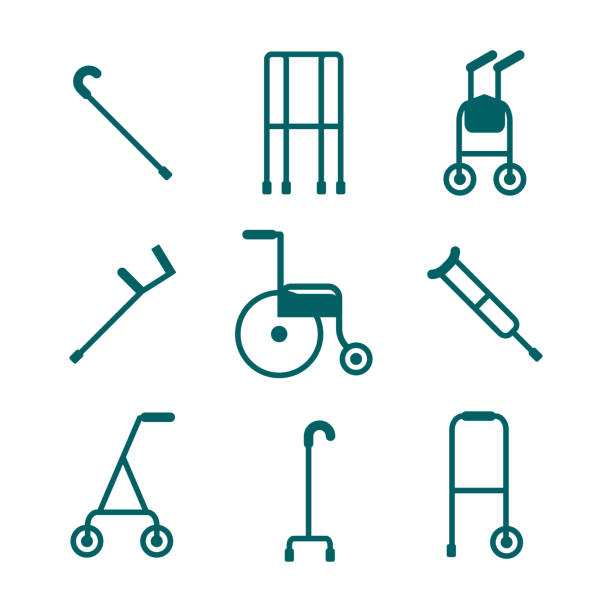 Best Mobility Walker Illustrations, Royalty-Free Vector ...