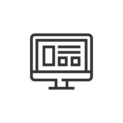 Widgets Line Icon