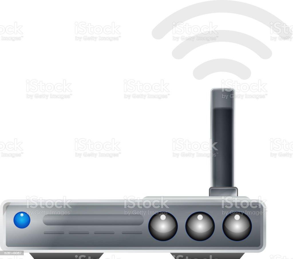 Wifi Adapter - Icon vector art illustration