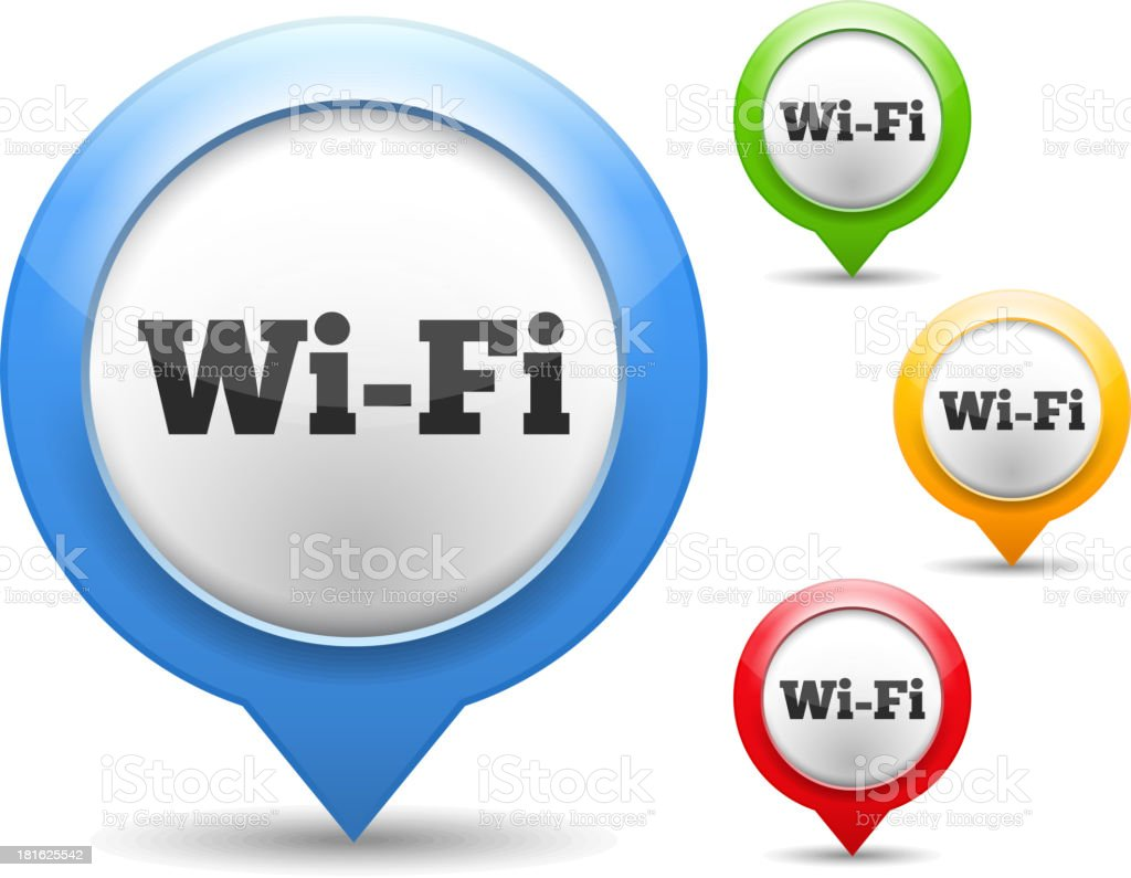 Wi-Fi Icon royalty-free wifi icon stock vector art & more images of arranging
