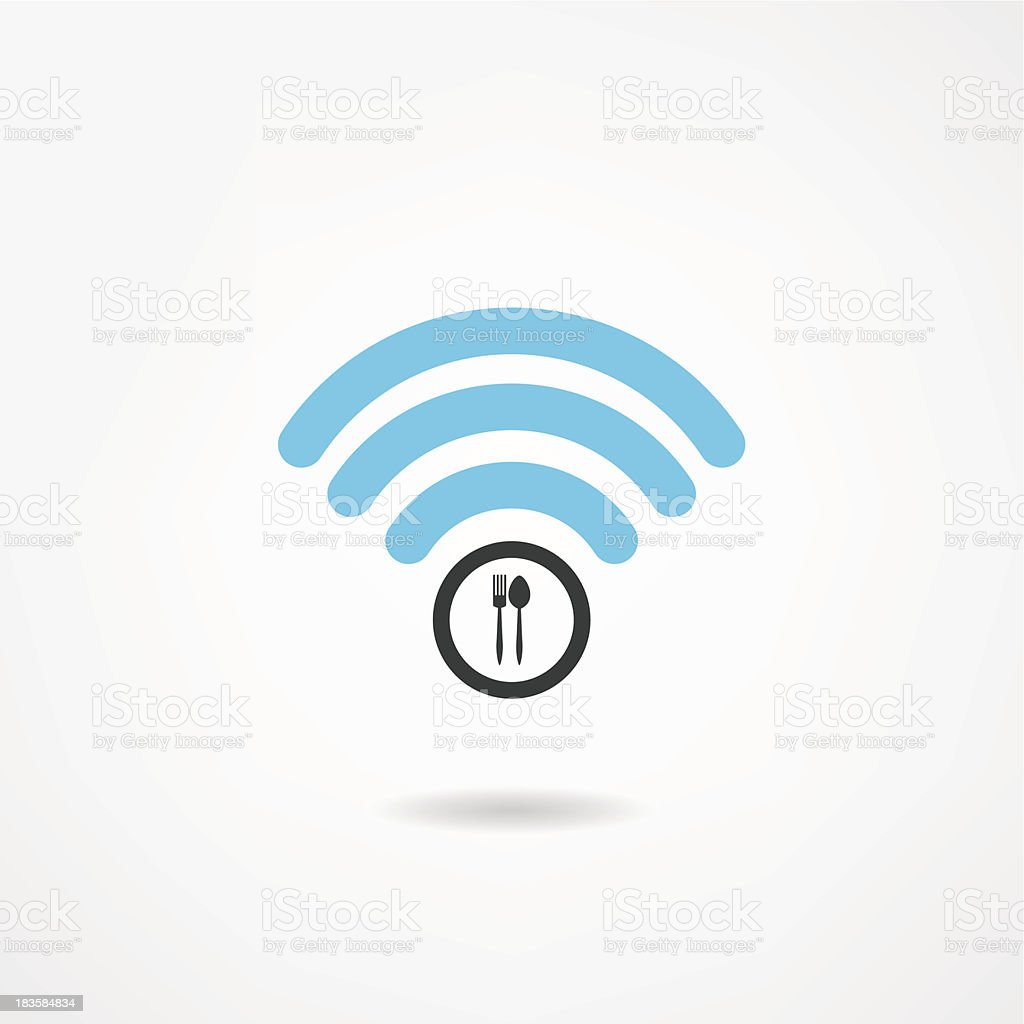 wi-fi icon royalty-free stock vector art