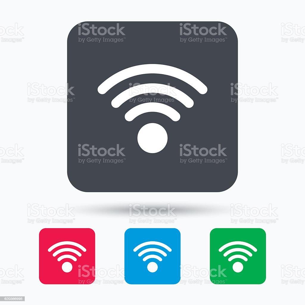Ikona wifi. Bezprzewodowy dostęp do Internetu znak. ikona wifi bezprzewodowy dostęp do internetu znak - stockowe grafiki wektorowe i więcej obrazów aplikacja mobilna royalty-free