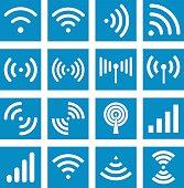 Wifi icons - Illustration