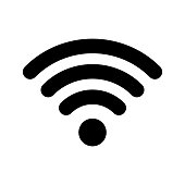 istock Wi-Fi internet icon. Vector wi fi wlan access, wireless wifi hotspot signal sign 1138089587