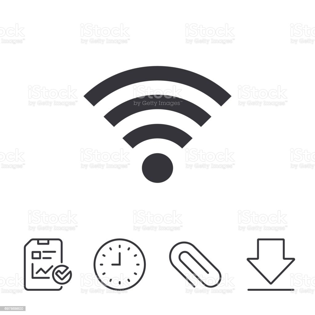 wifi sign wifi symbol wireless network stock vector art \u0026 more Wireless Network Connection Symbol wi fi symbol wireless network royalty free wifi sign