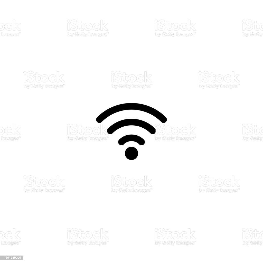 無線lan信号アイコンベクトルイラストデザイン つながりのベクター