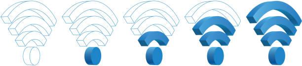 WLAN-signal – Vektorgrafik