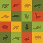 Wild Animal Icons