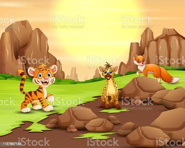 Wild animal in the nature at the sunshine vector id1157897144?b=1&k=6&m=1157897144&s=612x612&h=x ulp8go6lztpwqfqsmf5lnqlrxlk ba npzyeekx8y=