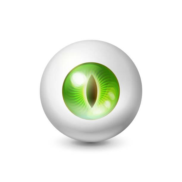 wild animal wathing eye concept - dragon eye stock illustrations, clip art, cartoons, & icons