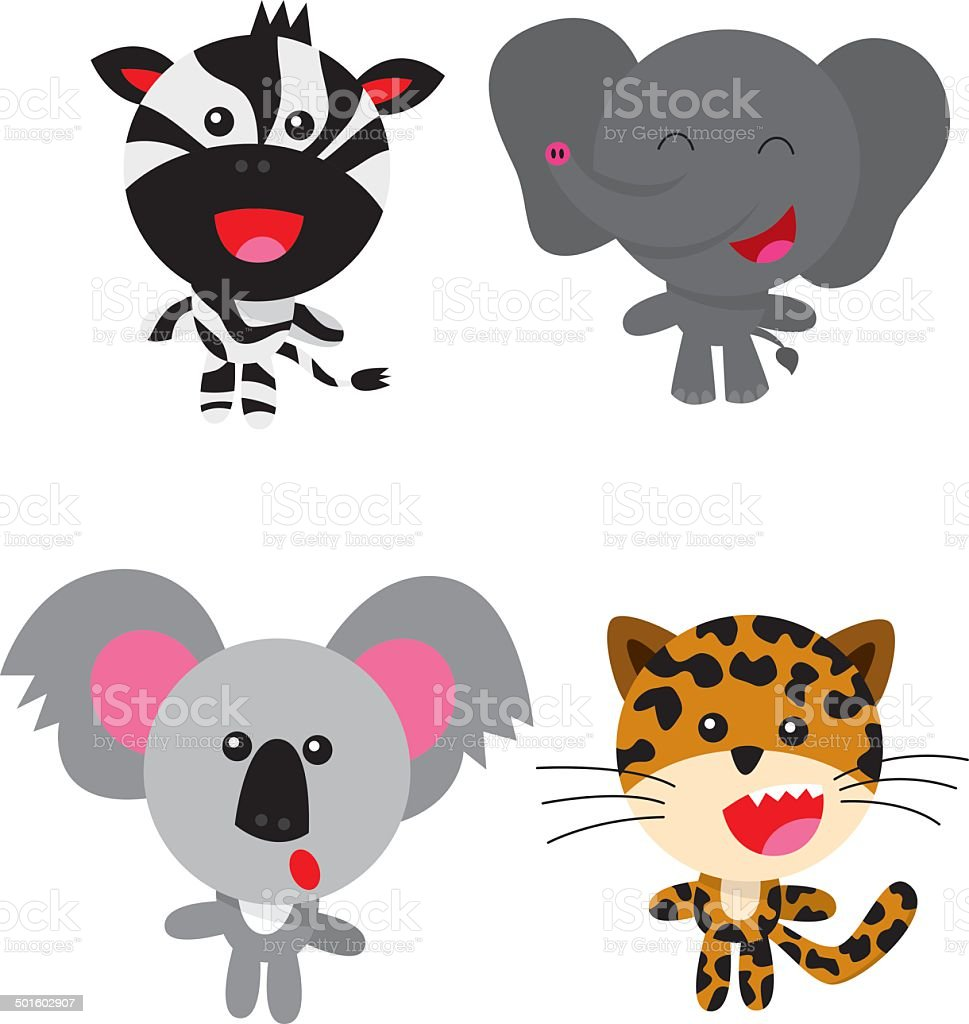 Wild animals 2 royalty-free wild animals 2 stock vector art & more images of animal