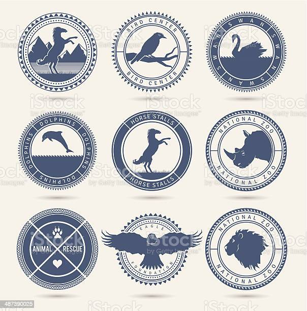 Wild animals badges vector id487390025?b=1&k=6&m=487390025&s=612x612&h=tibdzuhgurkigbp ibozwmgybcurjegbkqmwxehfrj4=