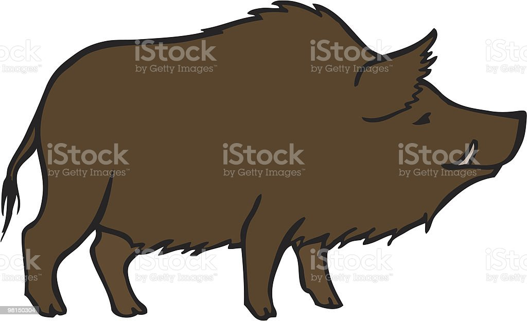 wild boar royalty-free wild boar stock vector art & more images of animals in the wild