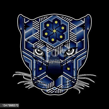 istock wild cat huichol art 1347998370