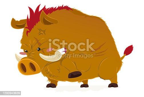 istock Wild pig the wild boar 1200943639