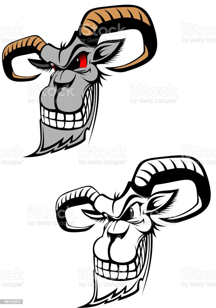 Wild ram royalty-free wild ram stock vector art & more images of animal