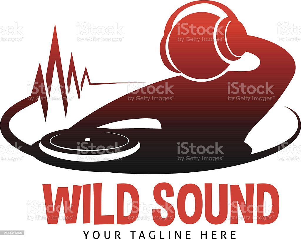 Wild Sound vector art illustration