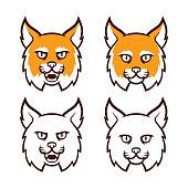 Wildcat head icon