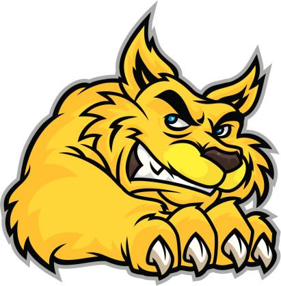 Wildcat Mascot Claw