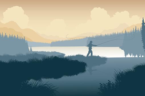 Wilderness angler